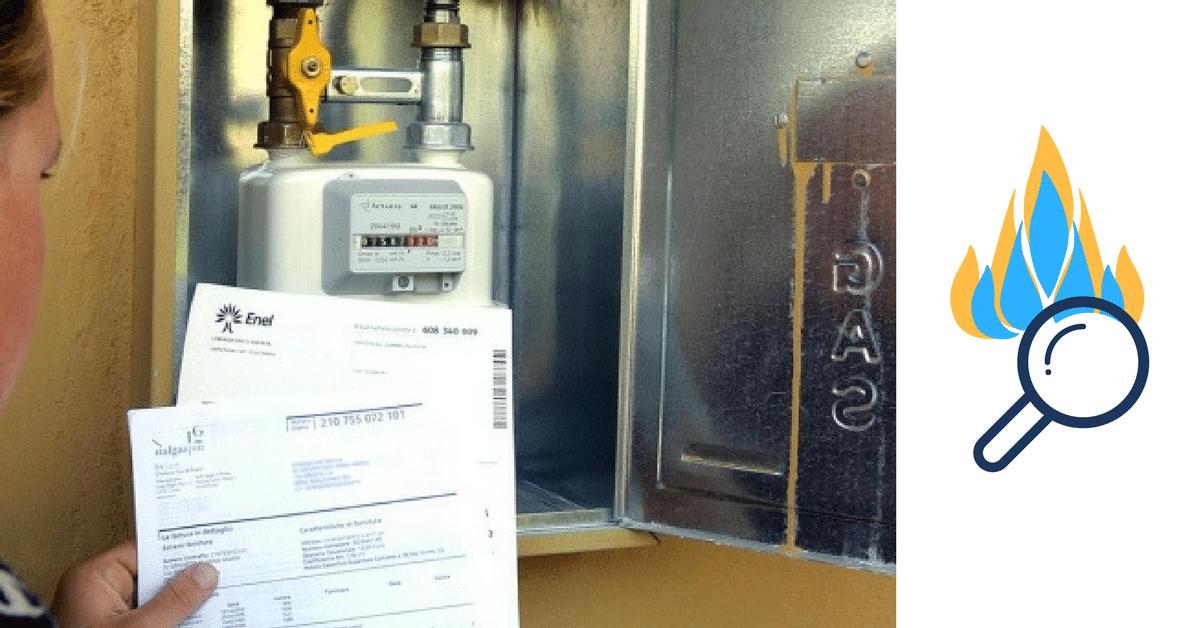 La bolletta del gas senza segreti